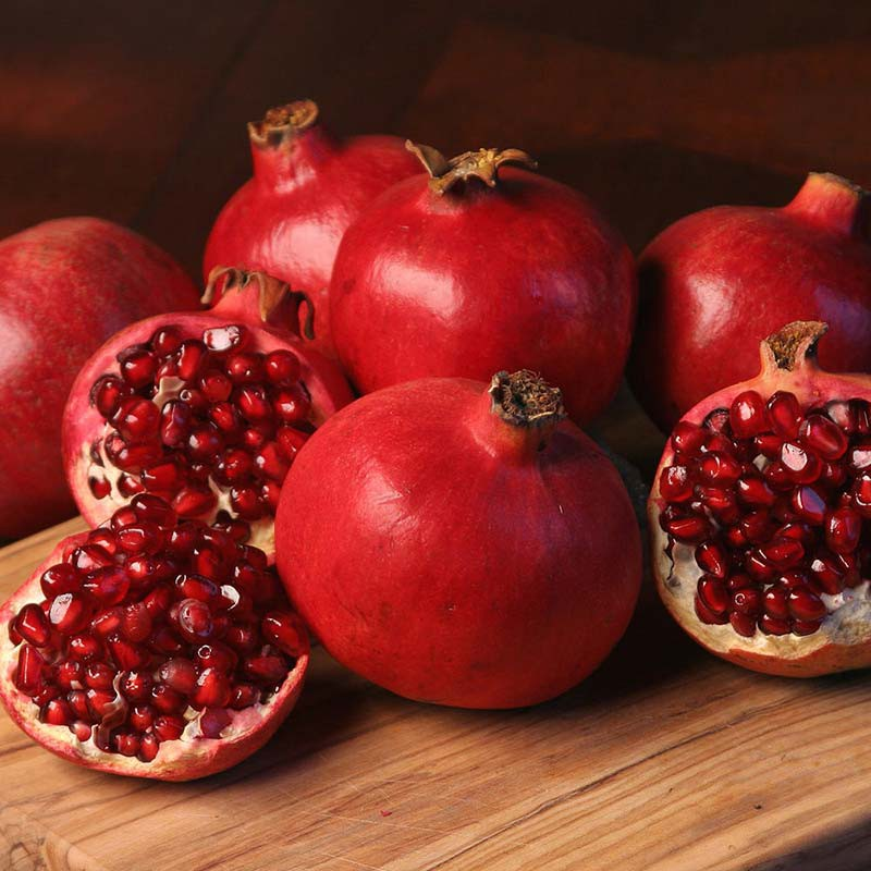 Fresh Organic Pomegranate (price per kilo)