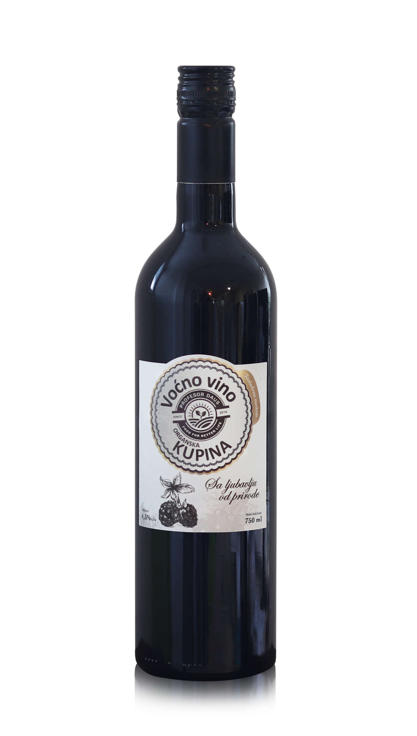 Organic Blackberry wine 0,75l