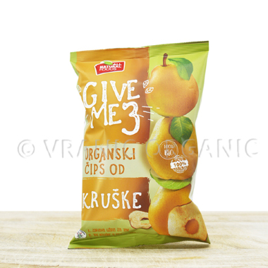 Organic pear chips 40g