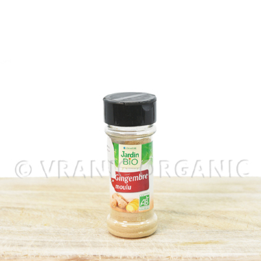 Organic Ginger in powder 25g