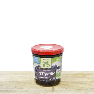 Organic Forest Blueberry Jam (pack 320g)