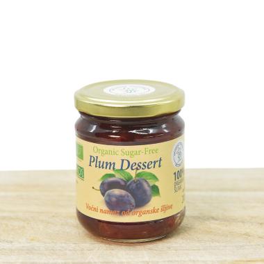 Organic sugar free plum jam 200g