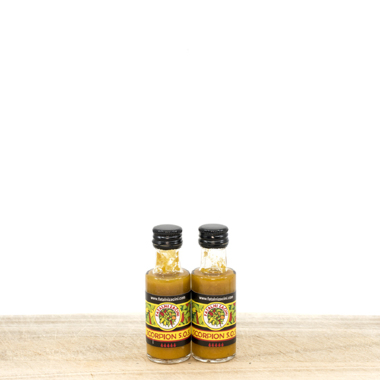 Scorpion Hot Yellow Pepper Sauce 20 ml