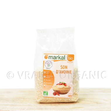 Organic oat bran 500g