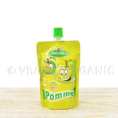 Organic apple mash for kids (100g)