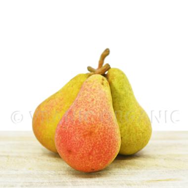 Organic Fresh pears (pack 500g)