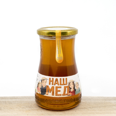 Organic Meadow Honey 450 g