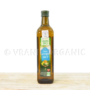 Organic mix rapeseed, sunflower, saffron oil 0,75l