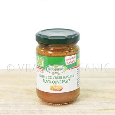 Organski Namaz od crnih maslina 140g