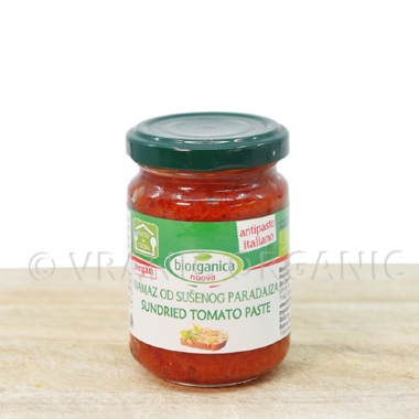 Organic spread with dried tomato 140g