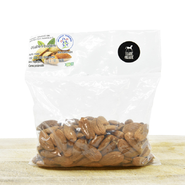 Organic cleaned almond's 200g