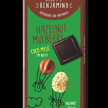 Organska čokolada badem i dud 70g