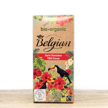 Belgijska organska crna čokolada 72% kakao