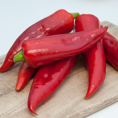 Bio red sweet peppers (kg)