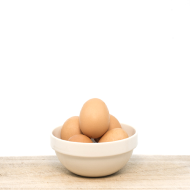 Organic Eggs in pack (6 eggs)