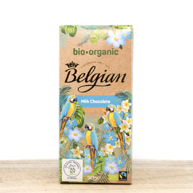 Belgian Organik Milk Chocolate 90g
