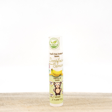 Organic Baby Tooth paste (0-36 months) - banana flavor (50ml)