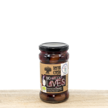 Whole Organic Calamata Olives 290g