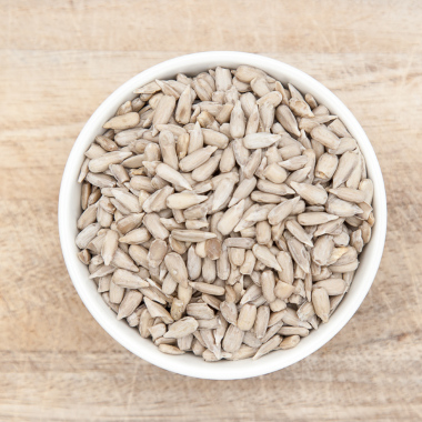 Bio peeled sunflower seeds in pack 100g