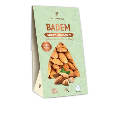 Organic Almonds (pack 100g)