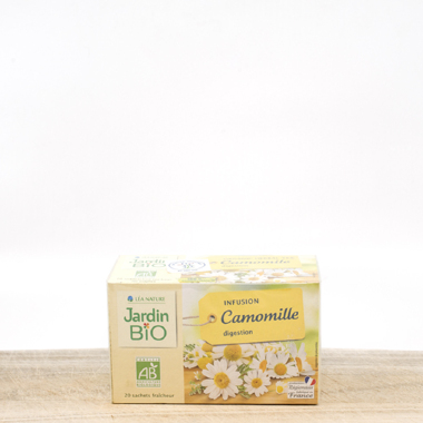 Organic tea with camomille (pack 20 pieces)