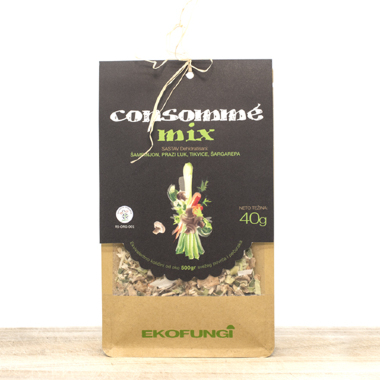 Organic Consomme Dried Vegetables Mix (pack 40g)