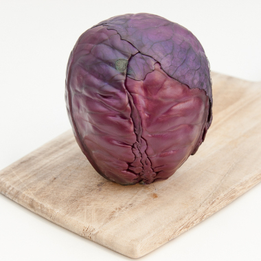 Organic red cabbage (per kilo)