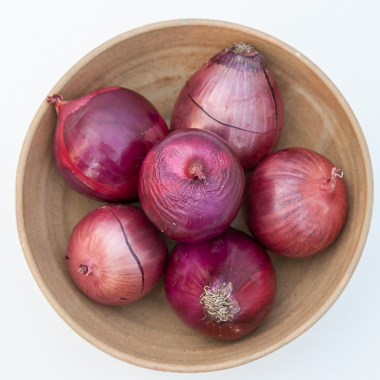 Organic Red Onion (pack 500g)