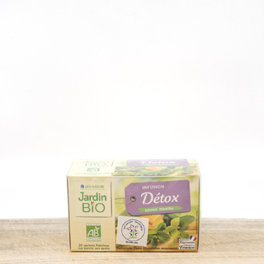 Organic Detox tea (pack 20 pieces)