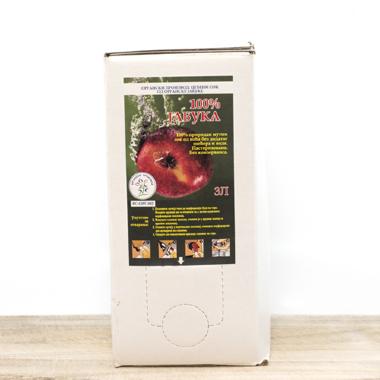 Organic Coldpressed Apple Juice 3l