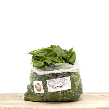 Fresh Organic Spinach 250g