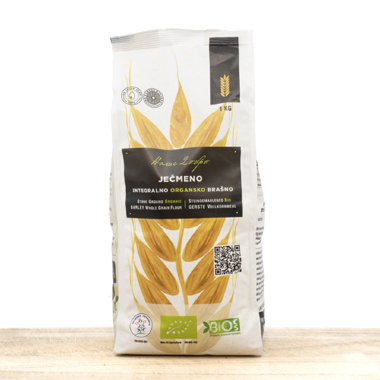 Organic Barley Whole Grain Flour 1kg