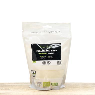 Organic Fine Corn Flour 500g