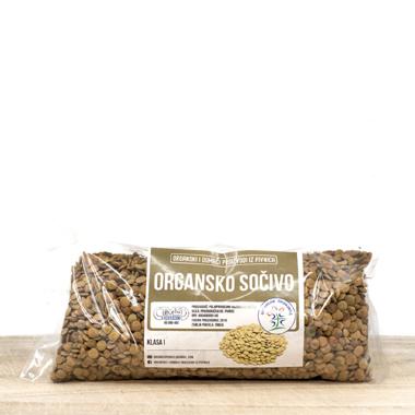 Organsko sočivo domaće (pak 500g)