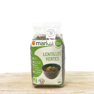Bio green lentils pack 500g