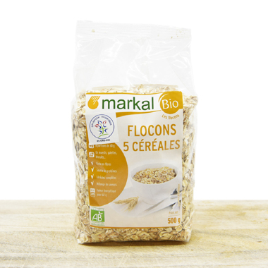 Organic Five Cereals Flakes 500g