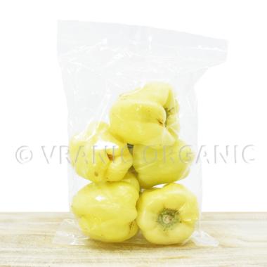Organske paprike žute (babure) - kg