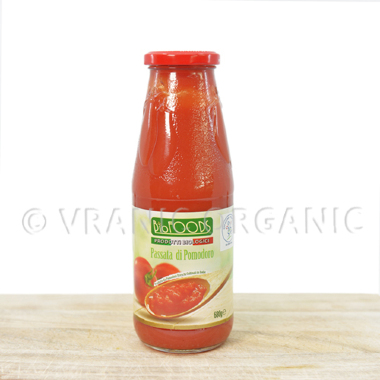 Organski pasirani paradajz 680g