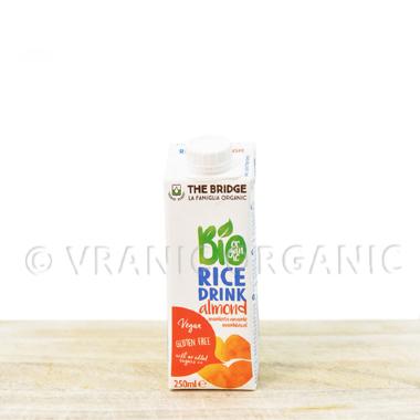Organski Pirinčani napitak sa bademom bez glutena 250ml