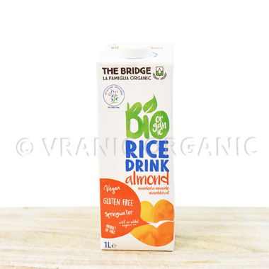 Organic rice drink with almond 1l