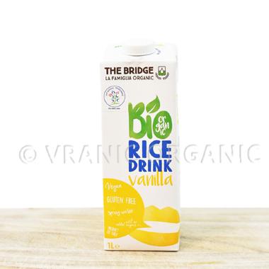 Organski Pirinčani napitak sa vanilom bez glutena 1l