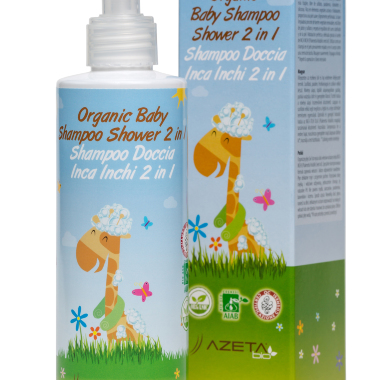 Organic Baby shampoo shower 200ml