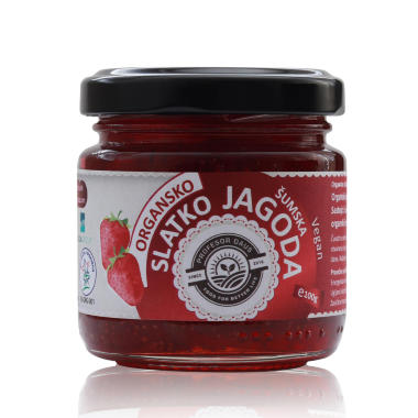 Organic Forest Strawberry Jam 100g