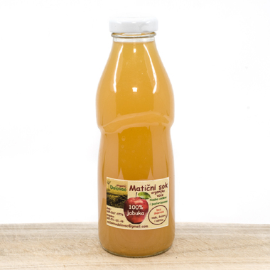 Cold Preessed Organic Apple Juice 0,5l