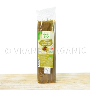 organic Spaghetti with quinoa, parsley and garlic 500g