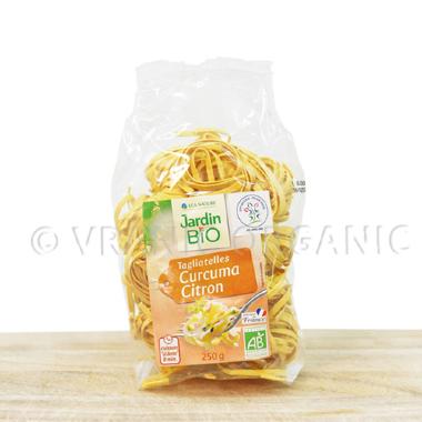 Organic tagliatelle with curcuma & citrus 250g